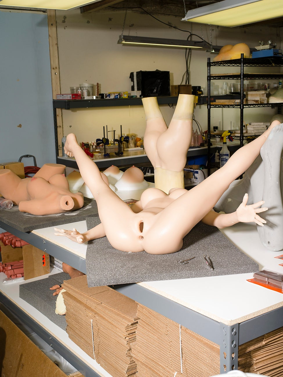Go Deep Inside a Sex Doll Factory