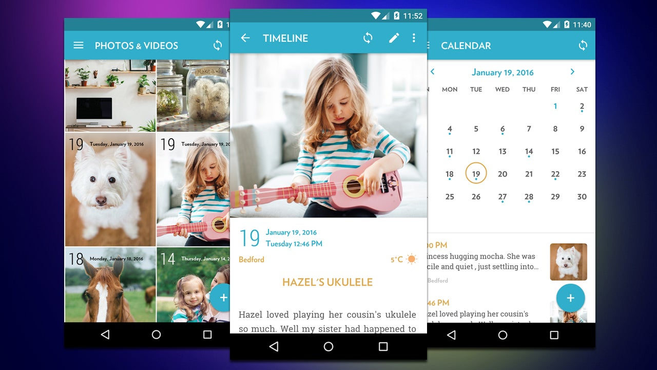 Journey Is a Journal App With Photo Support and Calendar View
