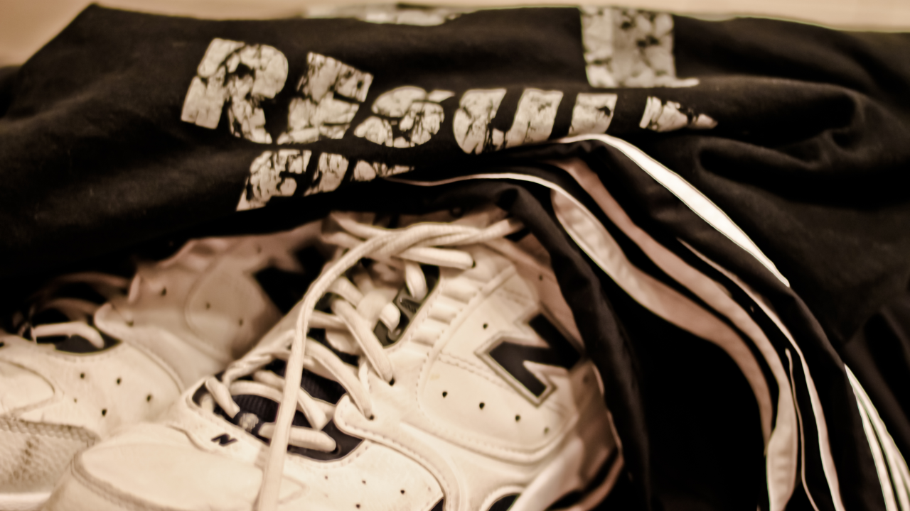 Assign Two Colours to Gym Clothes to Keep Stinky Gear Separate