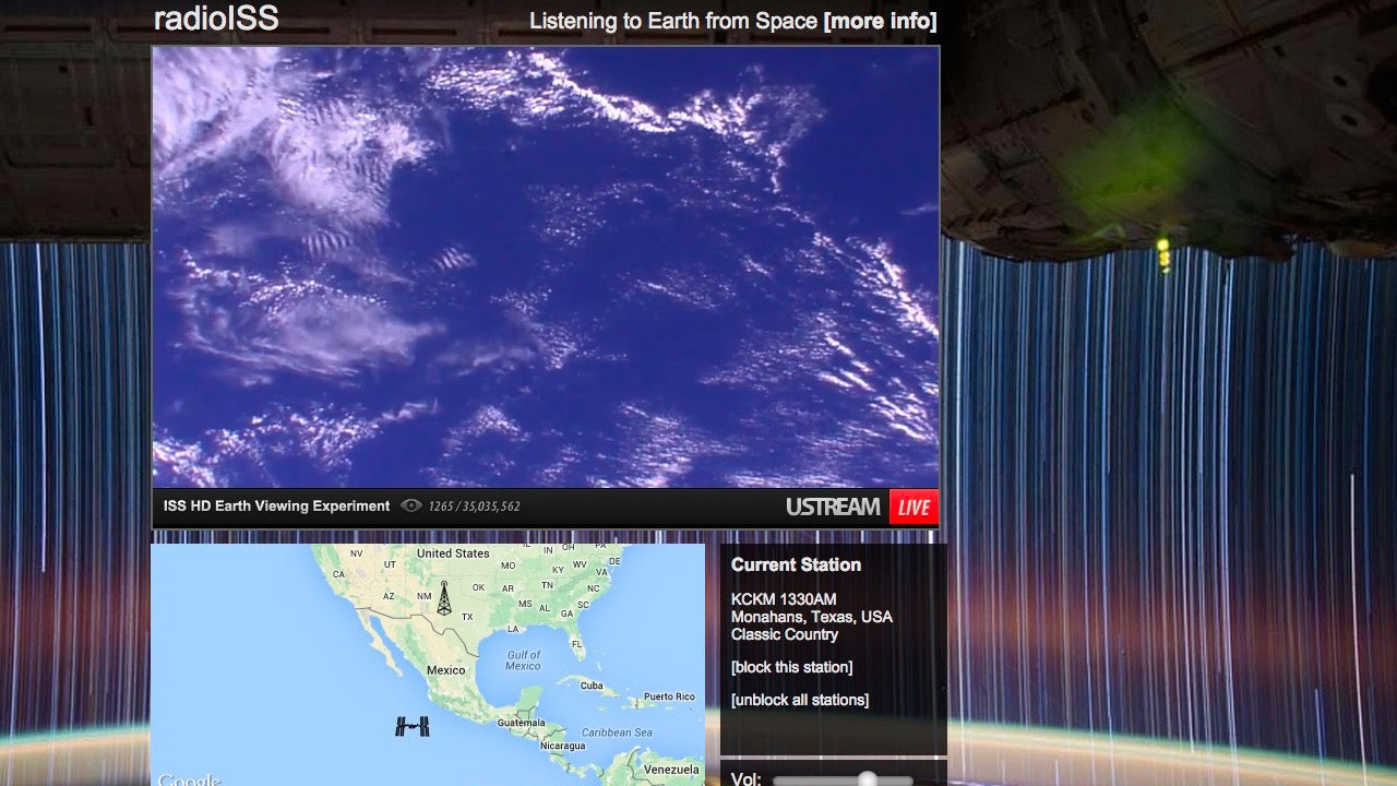 Radio ISS Streams Global Radio the International Space Station Can Hear