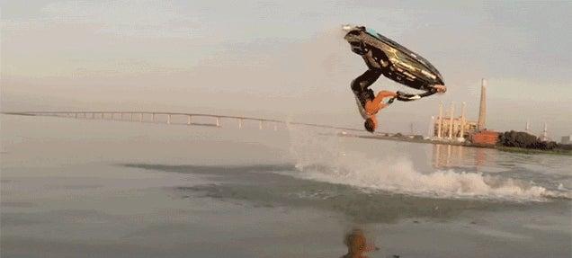 These Crazy Jet Ski Tricks Seem to Defy Gravity