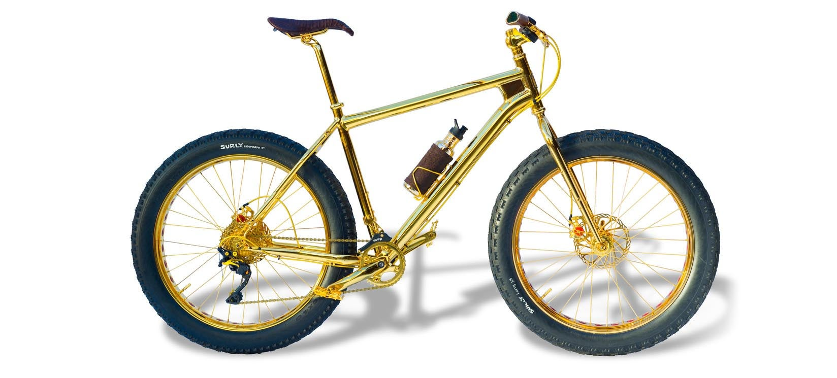 This Gold-Plated Bike Is Real and Costs $US1,000,000