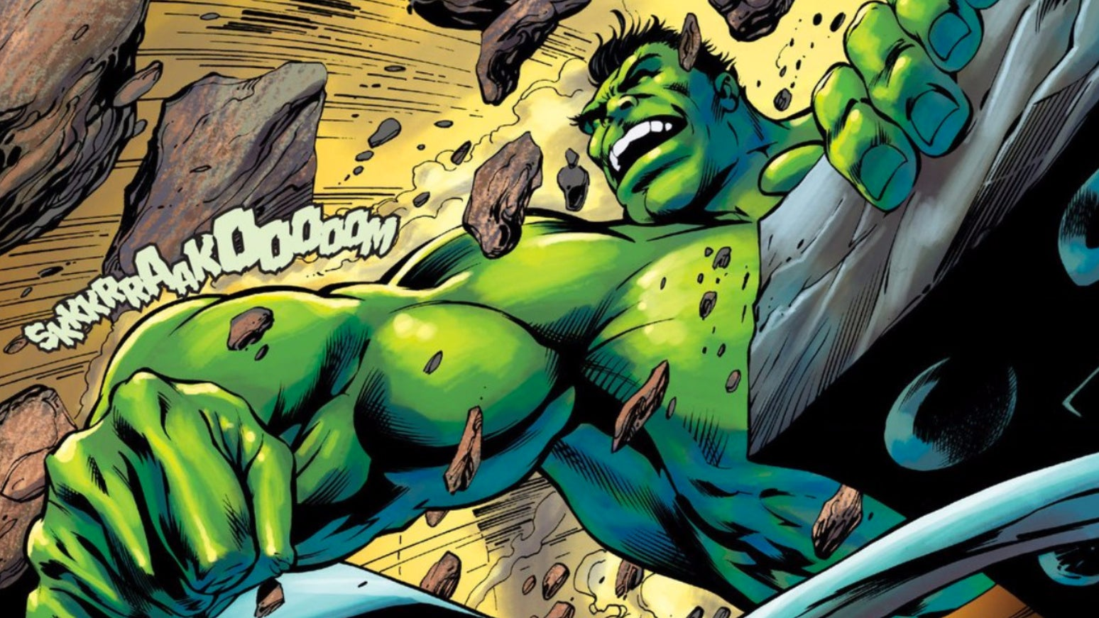 This Is What It Sounds Like When Hulks Cry
