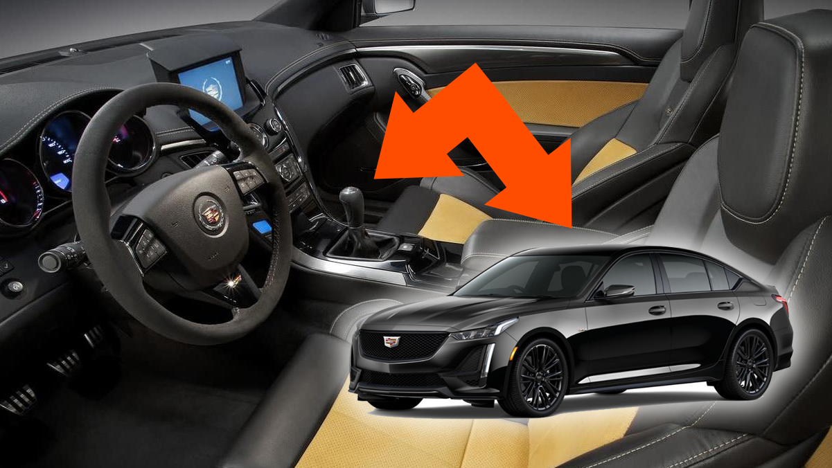 The V8 Cadillac CT5-V Will Get A Manual: Spy Photos