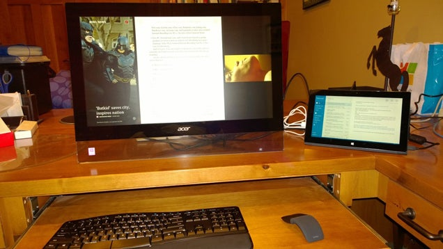 Turn A Windows 8 Tablet Into A Desktop PC