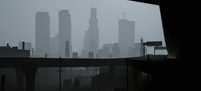 Grand Theft Auto V Looks Incredibly Creepy Without Textures
