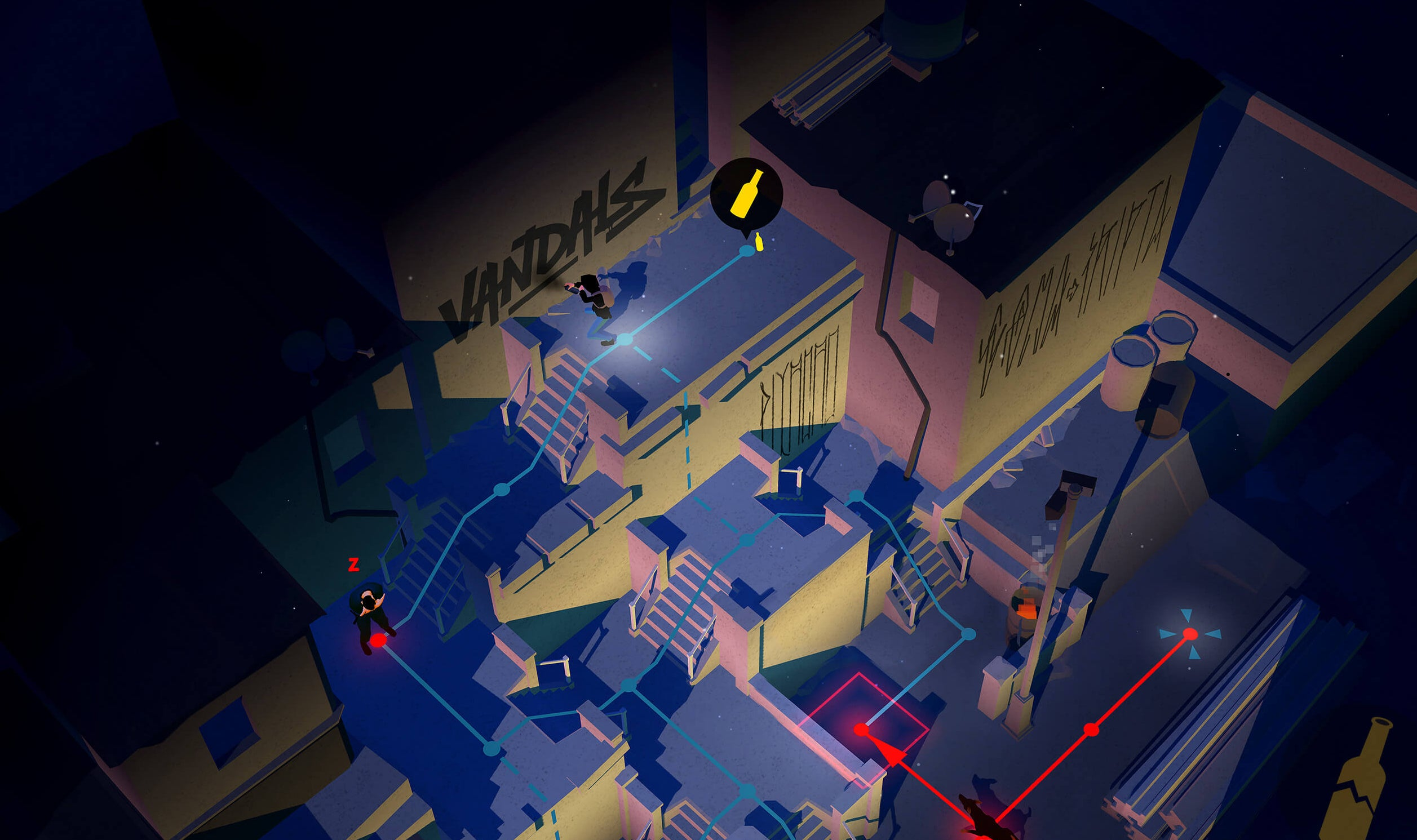 Vandals Is A Turn-Based Graffiti Game