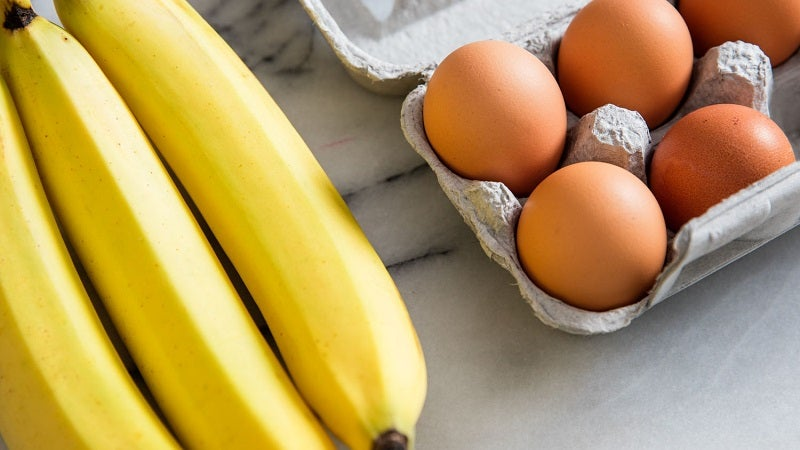 Rapidly Ripen Bananas For Baking With Egg Yolks