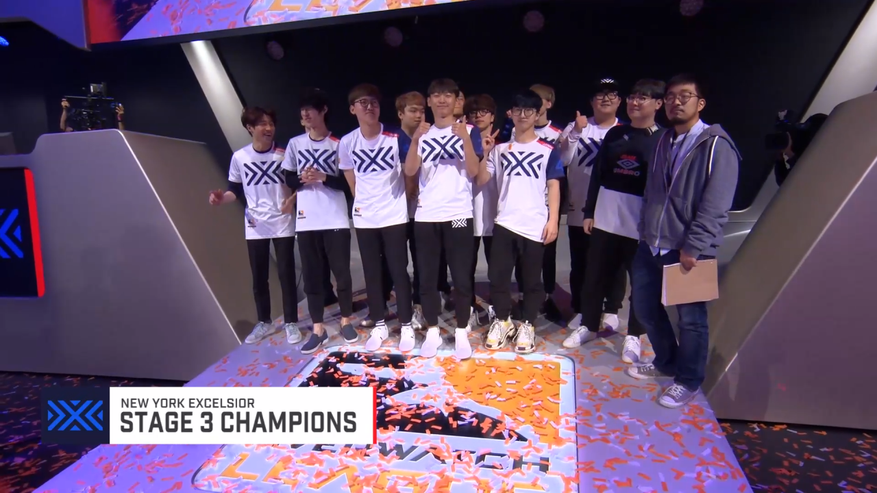 New York Claims Overwatch League Stage 3 Title, Ends Boston's Undefeated Streak