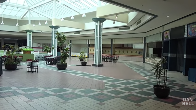 Take A Weirdly Hypnotising Tour Of America's Dying Malls