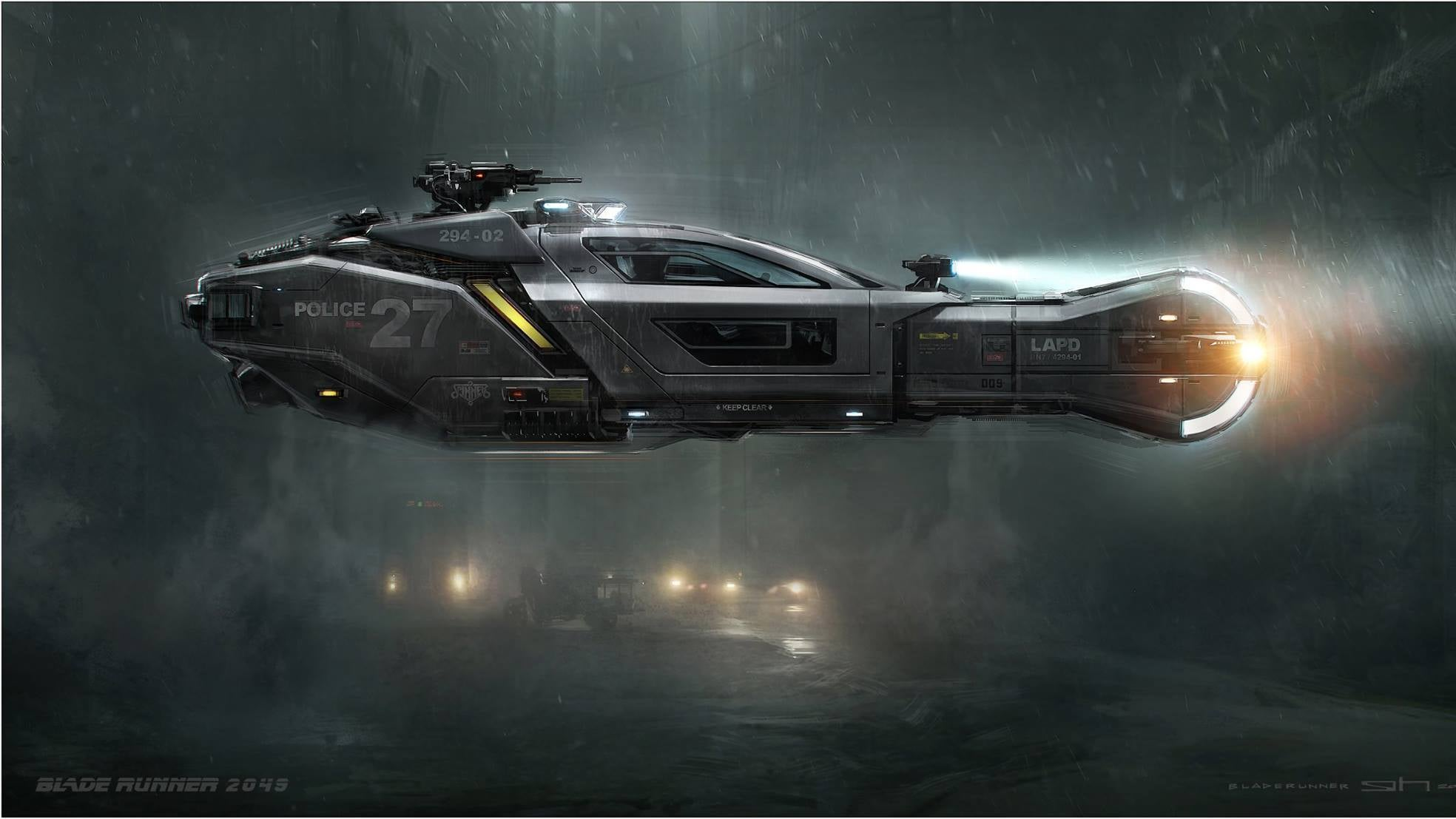 An Artist's Dream Comes True With These Blade Runner 2049Concept Images