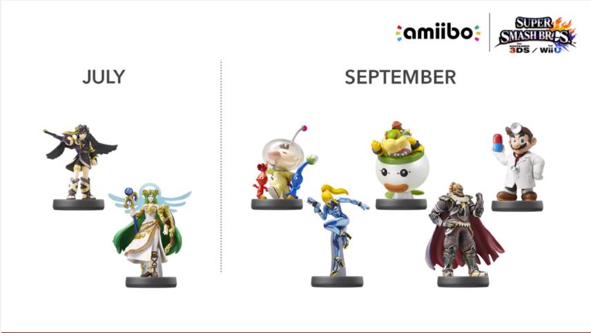 New Amiibo Include Ganon, Dr. Mario