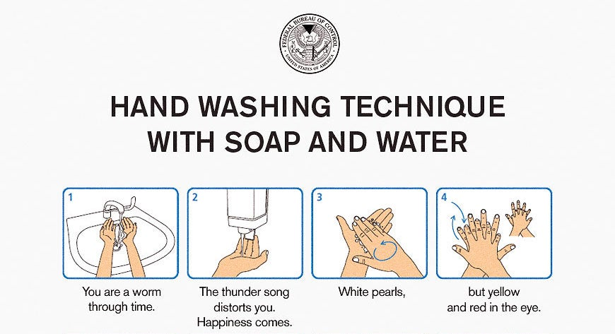 Control Has Some Advice On Washing Your Hands