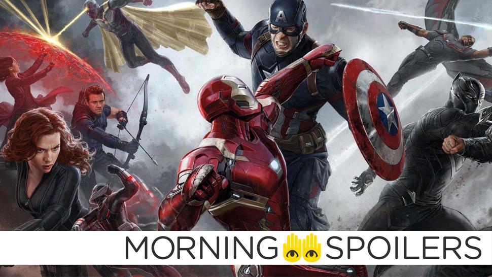 Avengers: Infinity WarSet Photos Tease Romance Among Earth's Mightiest Heroes