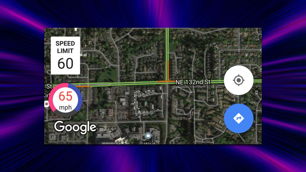 Velociraptor Adds a Speed Limit Indicator to Google Maps