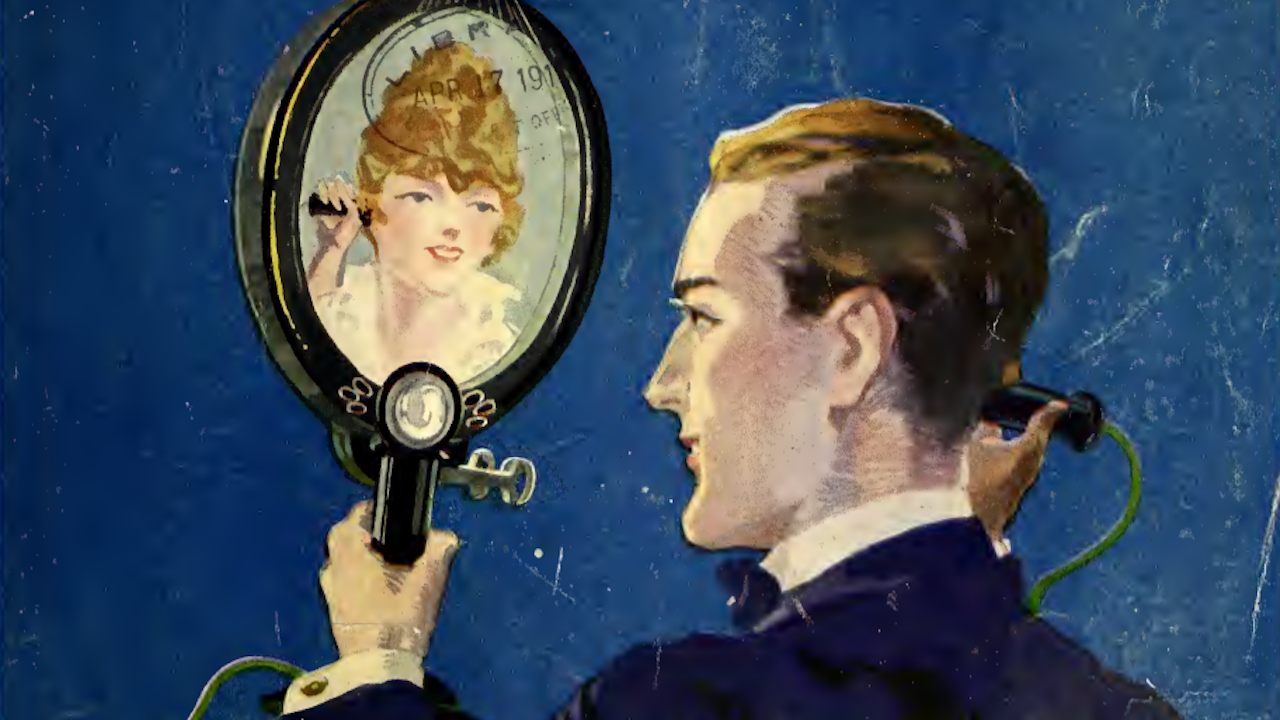 This Video Chat Prediction From 1918 Was So Much Cooler Than Zoom