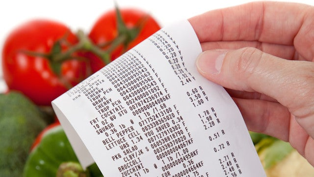 Highlight Your Supermarket Receipt to Remind Yourself What's Perishable