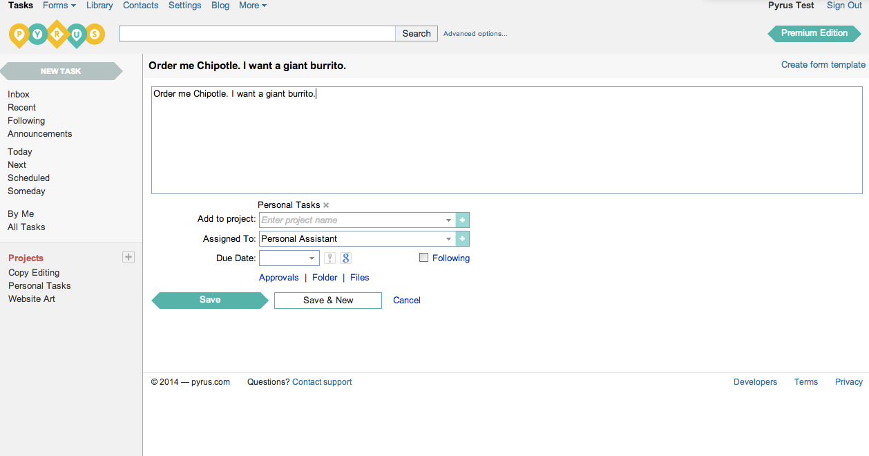 Pyrus Organizes Multiple Projects, Makes Working with Others Easier