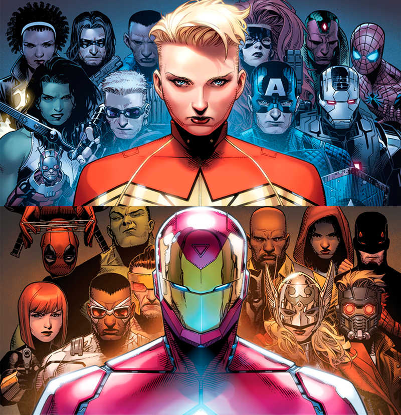 All the New Details About Marvel's Next Big Comic Event, Civil War II