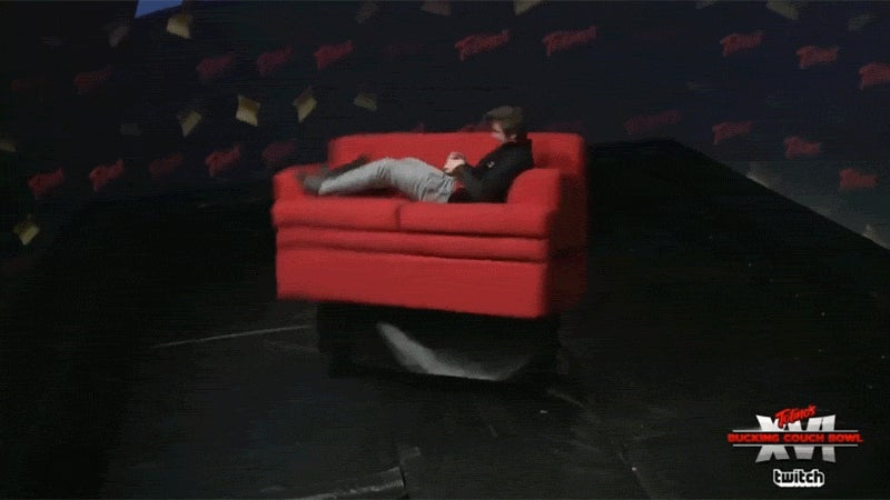 When Someone Plays Smash Bros. On A Twitch Chat-Controlled Couch