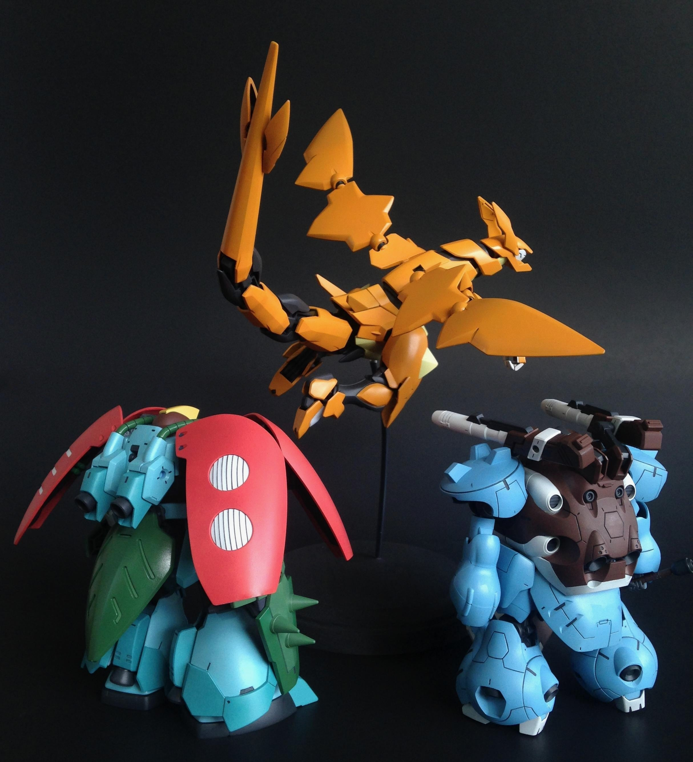 Pokémon vs Gundam