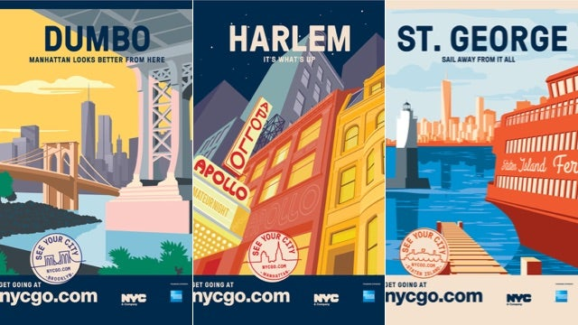 New NYC Tourism Ads Target Locals Too Lazy to Leave the Neighbourhood