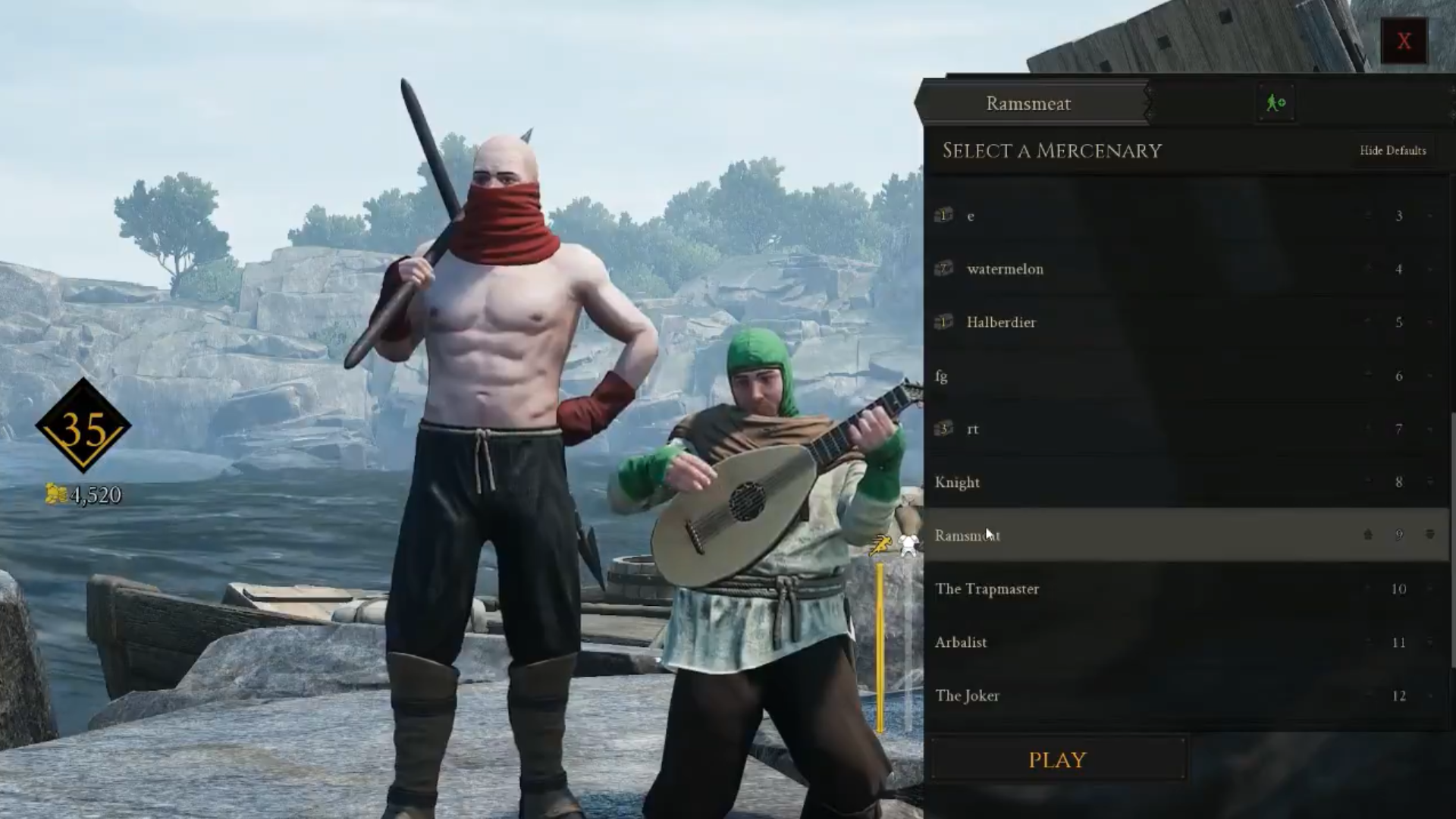 Mordhau Players Glitch Out Of Map To Troll Each Other