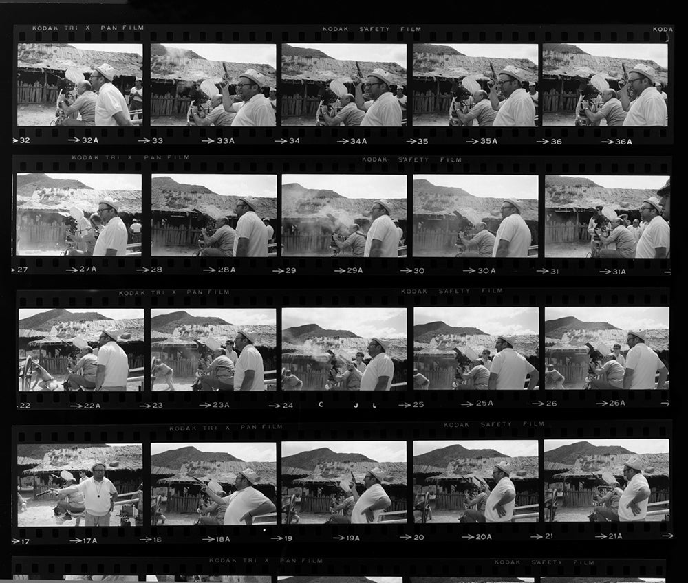 Contact Sheet Outtakes Show Hollywood's Greatest Icons Caught Off Guard