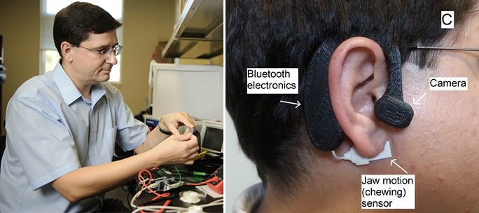 This Wearable Counts Calories For You From the Comfort of Your Ear