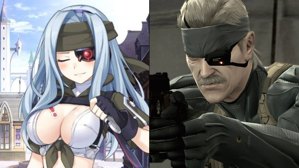 Anime Characters Games : Iconic video game series reimagined as anime girls