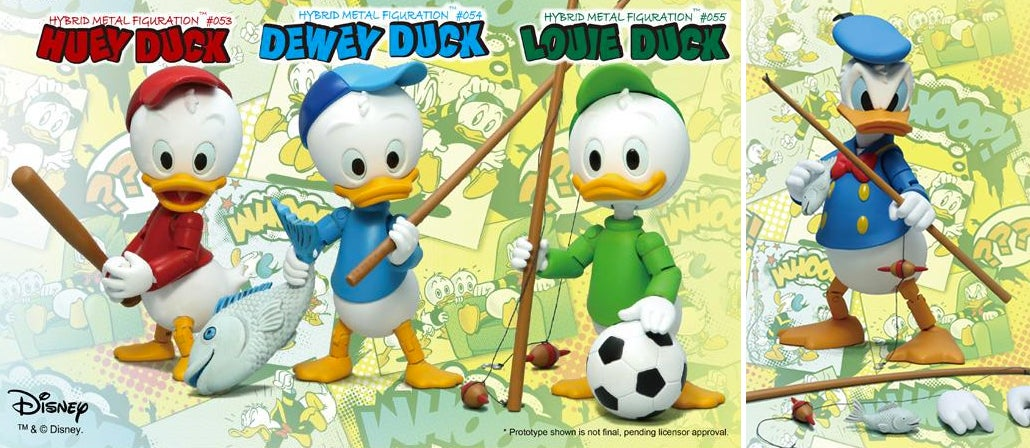 Donald Duck Seems Furious About These Fabulous New Duck Tales Figures