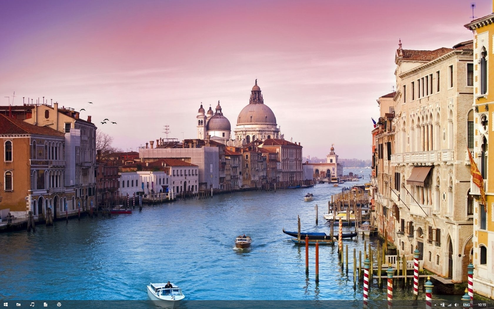 The Minimal Venetian Desktop