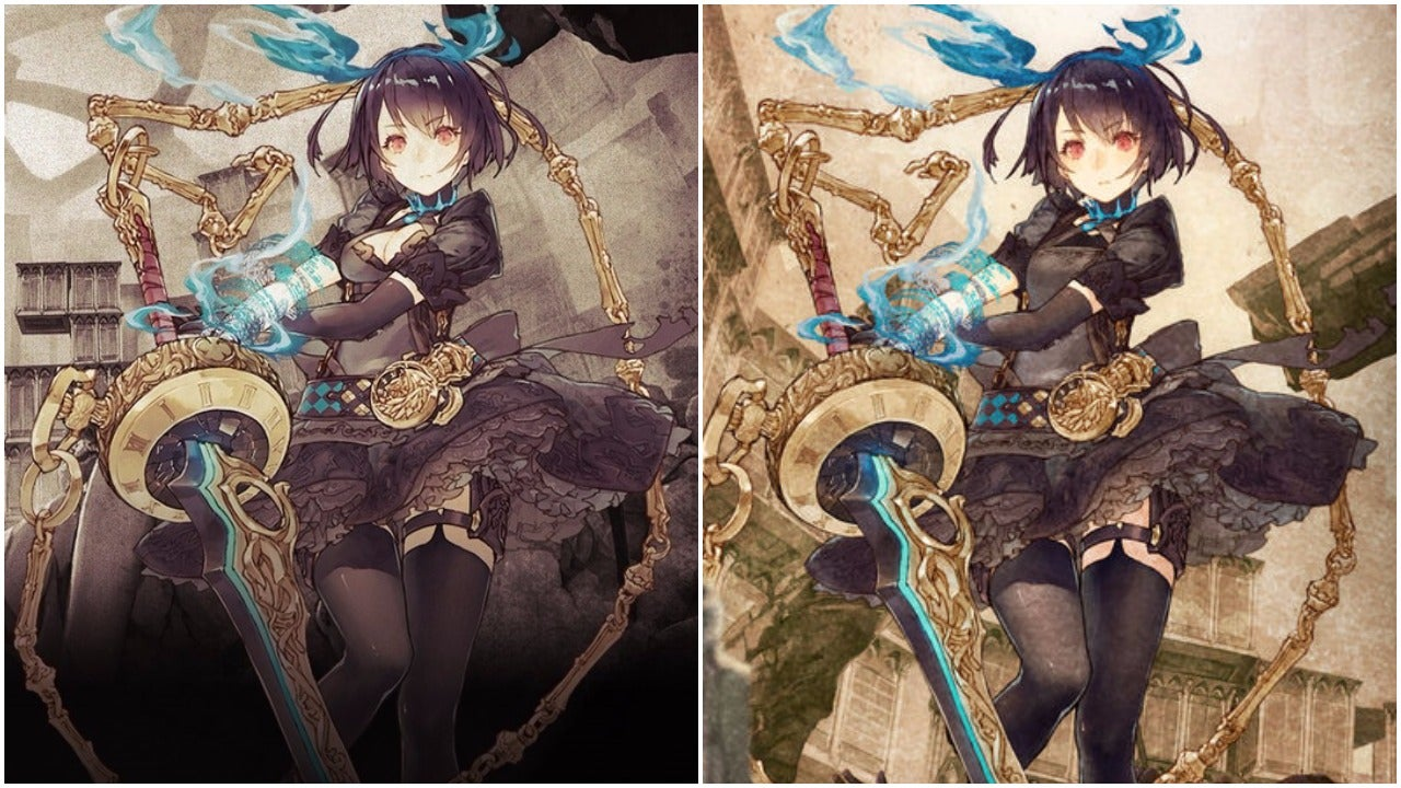 Sino Alice Art Gets Covered Up Because Of Cleavage