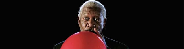 Hearing Morgan Freeman Talk On Helium Is Pretty Damn Hilarious