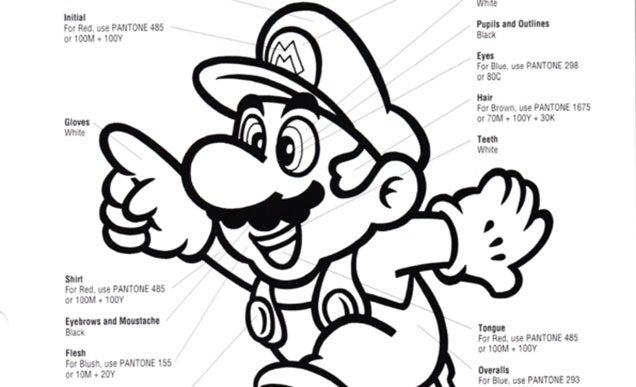 Nintendo's Official Rules On What Colour Mario Must Be