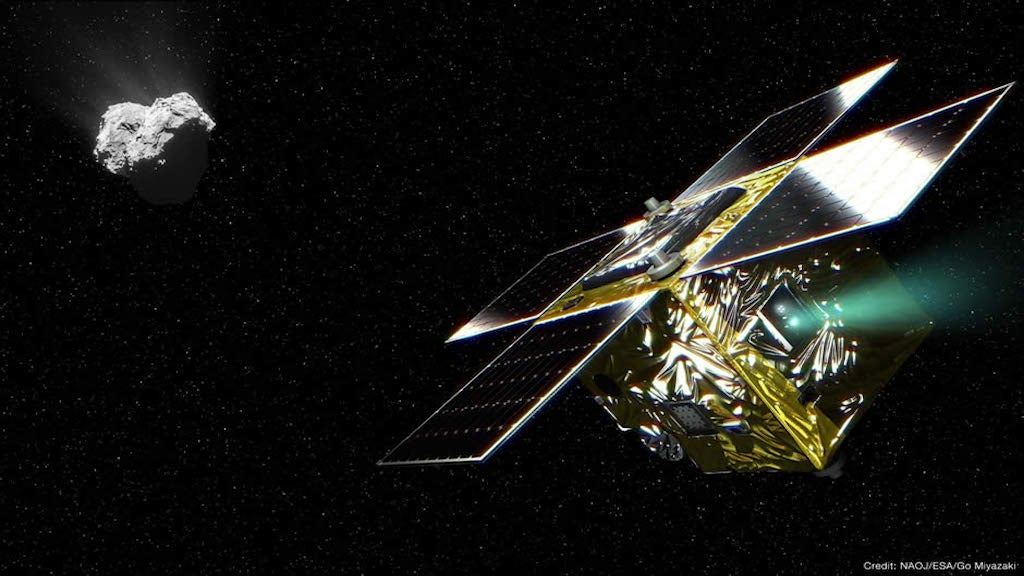 Lost Japanese Spacecraft Has Made A Key Measurement On Rosetta's Comet