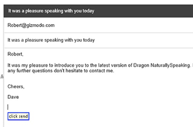 The New Dragon NaturallySpeaking Can Do Almost Anything Your Mouse Can