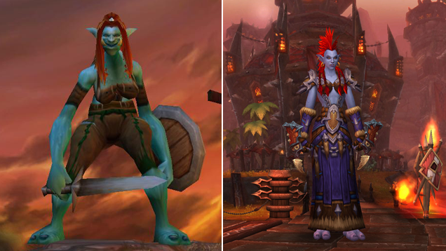 World of Warcraft, Then And Now