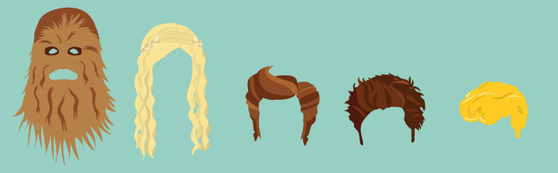 Iconic hairstyles of famous characters from pop culture