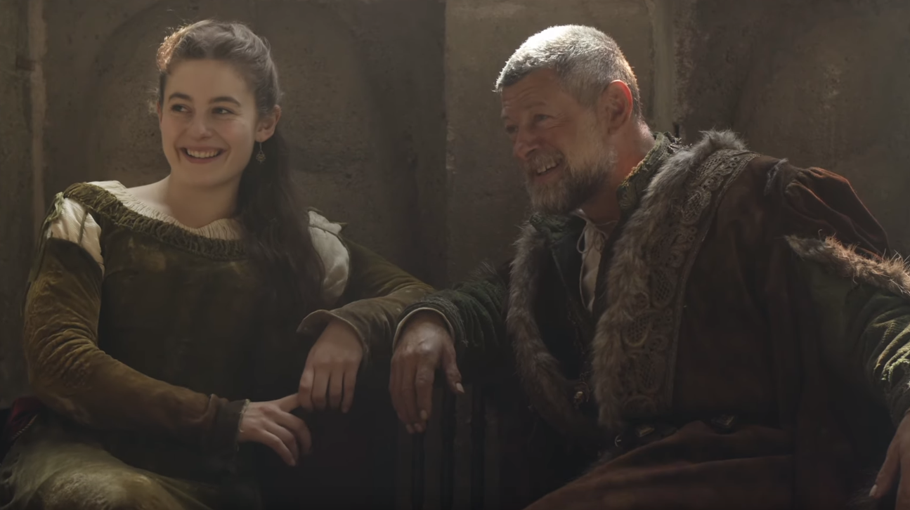 Andy Serkis And His Daughter Discuss Acting Together On The Letter For The King