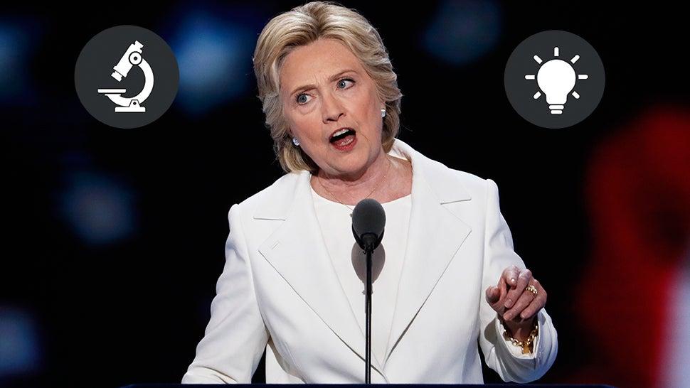 Hillary Clinton Believes In Science
