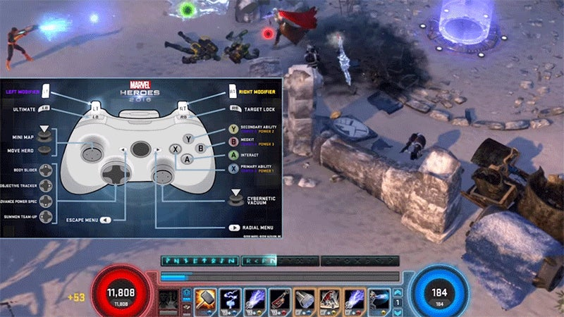 Marvel's Diablo Plays Better With A Game Controller Too