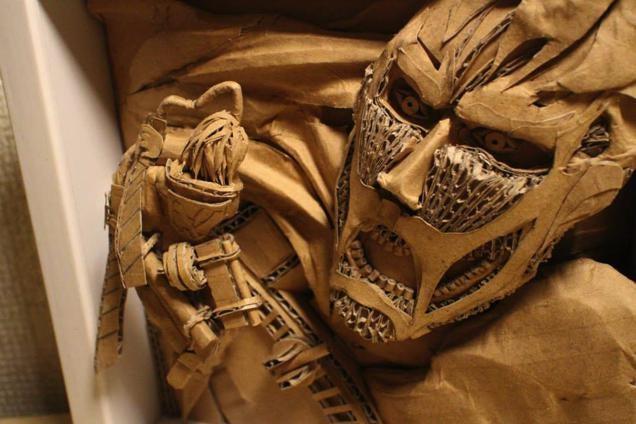 Incredible Japanese Cardboard Creations