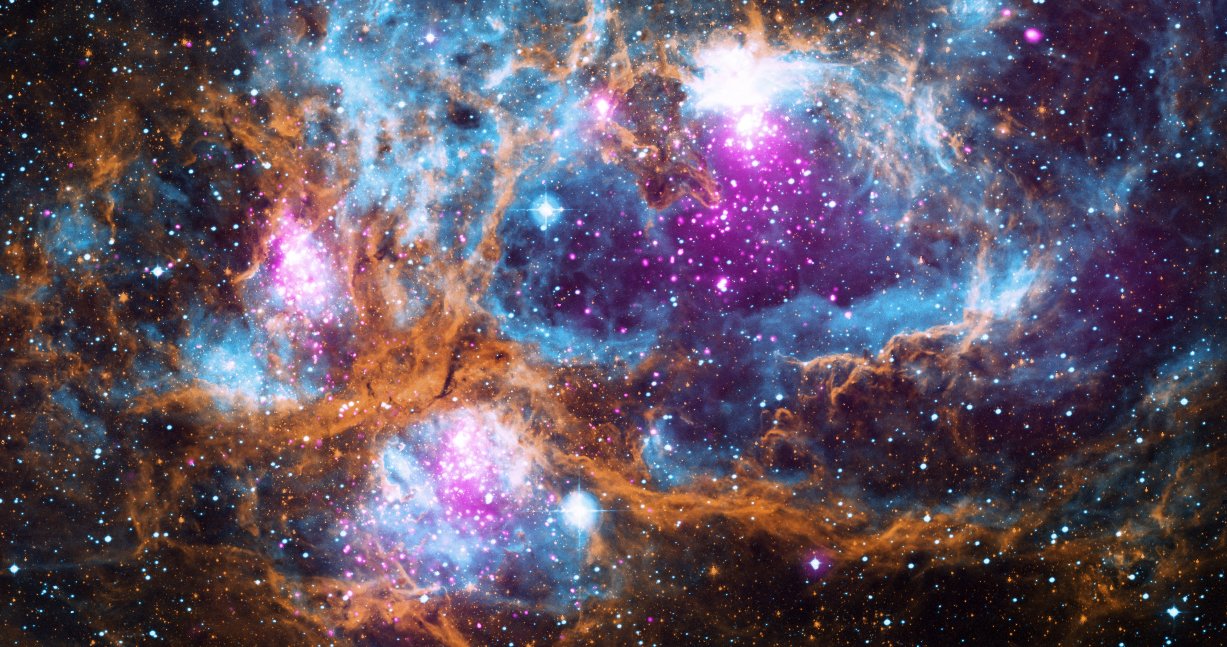 Space Is Gorgeous And Terrifying In These Photos From The Chandra X-Ray Telescope's 20 Years In Space