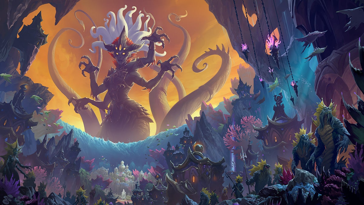 World Of Warcraft's Rise Of Azshara Update Is Live And There's So Much To Do
