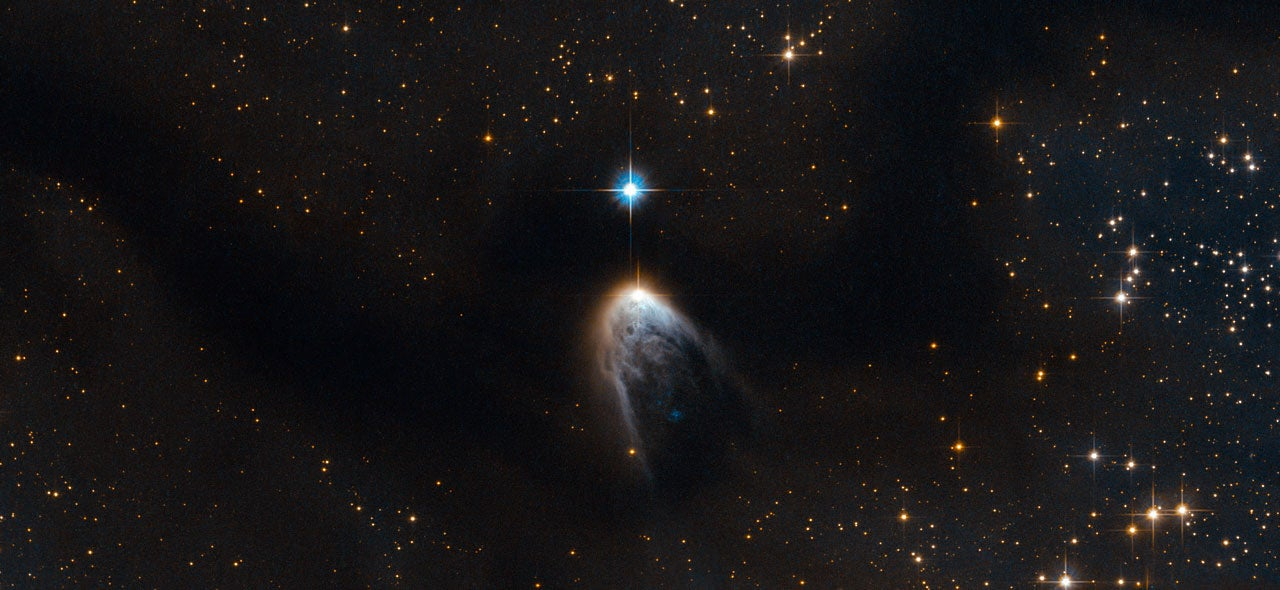 New beautiful photo reveals the violent birth of a star