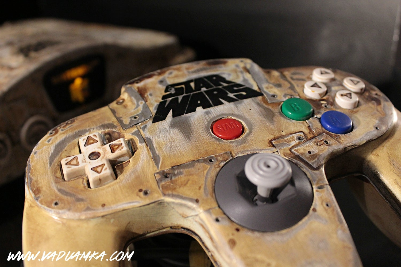Star Wars N64 Looks Like It Was Found In The Wreckage Of Jakku