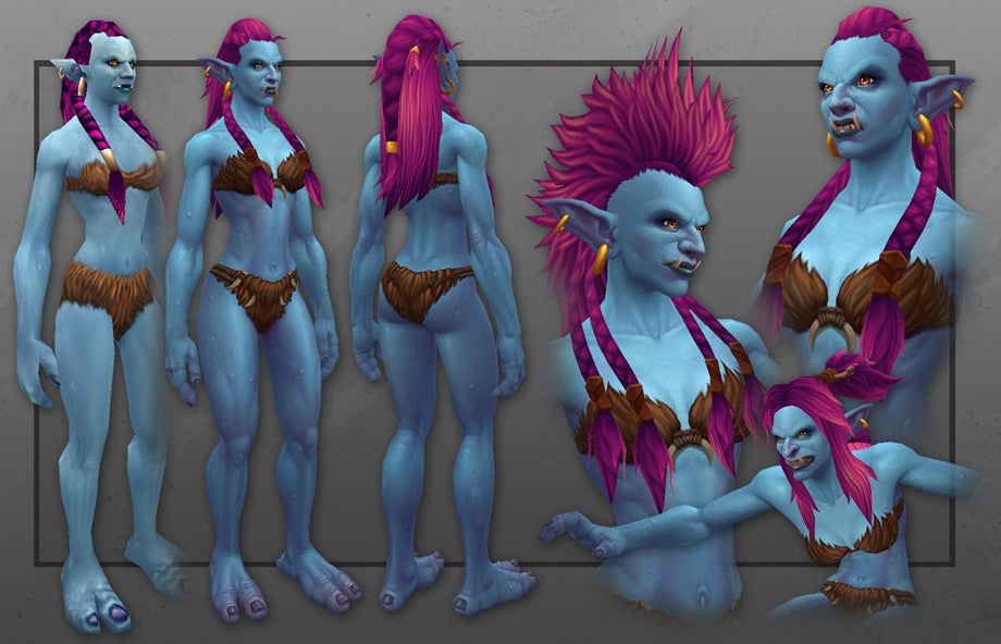 World of Warcraft Has New Trolls, And They Look Great