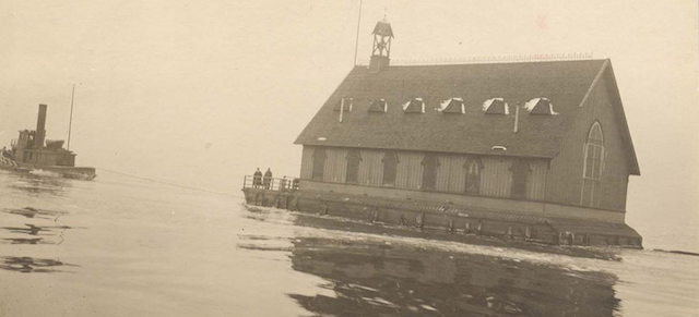 The Unlikely Fate of NYC's Last Floating Church