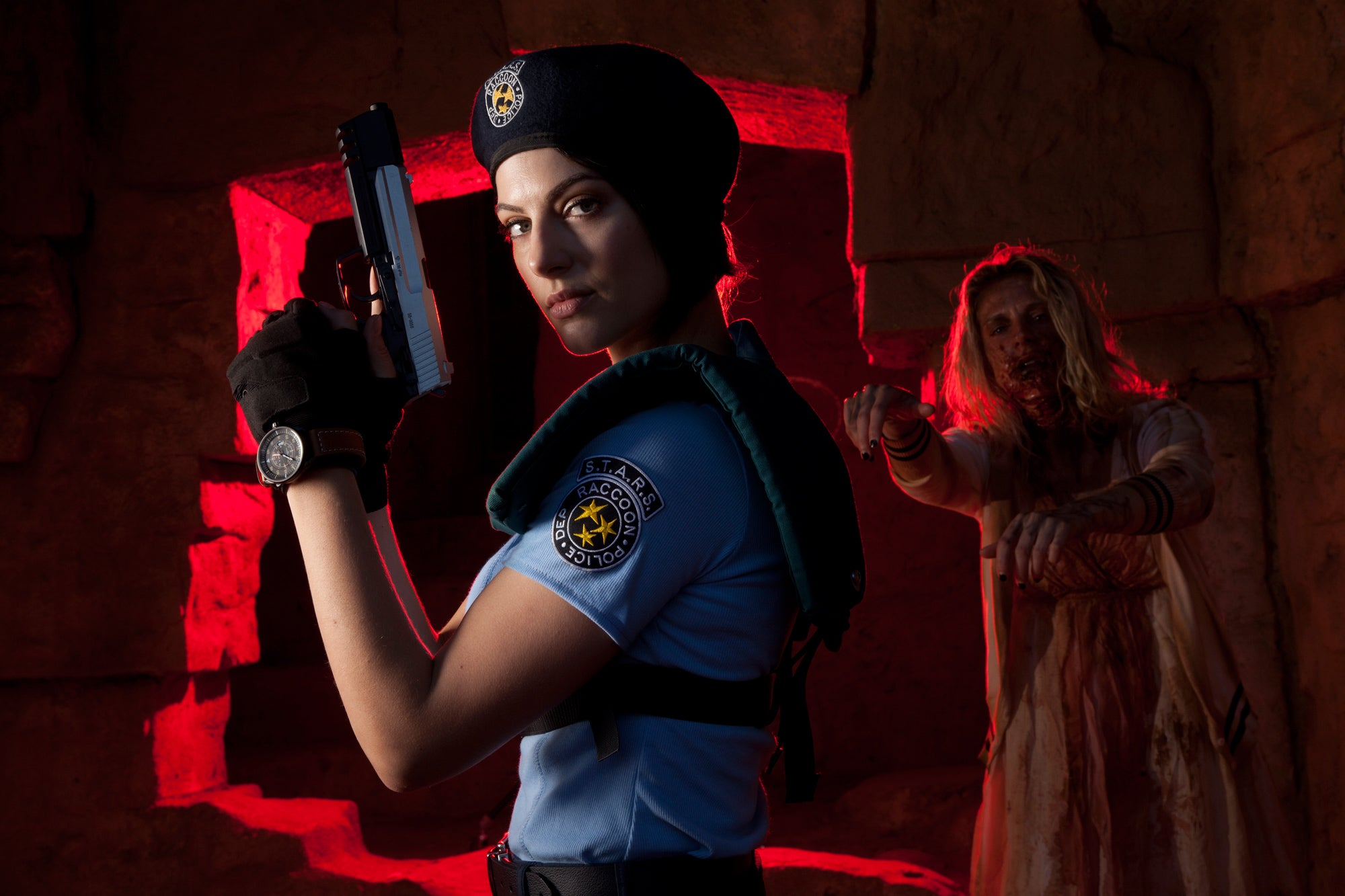 Resident Evil Actress Cosplays As Resident Evil Character